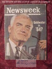 NEWSWEEK May 20 1963 BARRY GOLDWATER BIRMINGHAM +++