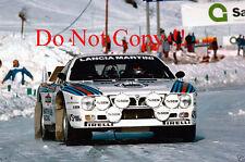 Henri Toivonen MARTINI LANCIA 037 Monte Carlo Rally 1985 Fotografia