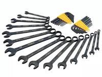 "5//16/"" 11 PIECE SET SAE Hex Tool BLACK ALLOY STEEL Wrench Allen Key .050/"""
