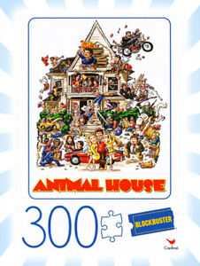 Blockbuster Animal House Movie Poster 300 Piece Jigsaw Puzzle