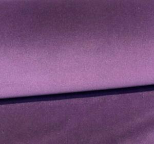 Charisma Velvet Velour Iris Purple IFR 25 oz Fabric by the yard