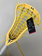 New Womens Lacrosse Stick Under Armour Emissary Head Alpha Shaft Retails $300 +
