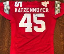 Andy Katzenmoyer Team Issue AUTHENTIC Signed Ohio State Buckeyes Jersey AUTO
