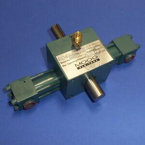MOOG FLO-TORK HEAVY DUTY ACTUATOR 900-160-AICBX-SSX-MS13X-RKDX-N NNB