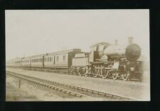 Railway GWR loco #3473 COUNTY OF MIDDLESEX express pre1919 RP PPC by Pouteau