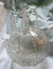 Carafe bouteille Hollande 18e siécle Antique Glass decanter flask