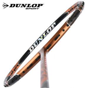 Dunlop Force CU 8.5 PRO Badminton Racket Racquet Unstrung 4U (82g) Black