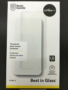 BodyGuardz Pure 2 Tempered Glass Screen Protector for LG G8X ThinQ AU Stock