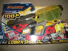 Xploderz Cobra Shield   500 rounds  included New