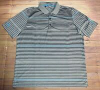 Adidas Climacool Ryder Cup 2105 Islesmere SS Golf Polo Shirt Mens Large Gray