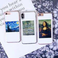 FC Leonardo Da Vinci Monet Van Gogh Art Phone Case/Cover For iPhone Samsung UK!