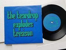 "THE TEARDROP EXPLODES -  Treason (It's Just A Story) UK 7"" JULIAN COPE 1980"