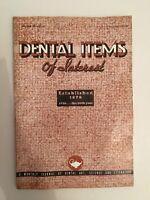 Dental Items de Interes N º 11 A Monthly Journal Noviembre 1938