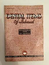 Dental Items of Interest n°11 A monthly Journal November 1938