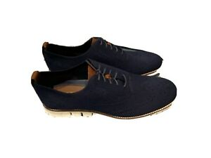Cole Haan Zero Grand - Stitchlite - Oxford - Size 11.5 Men's Blue Casual Shoes