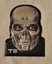 Terminator 2 T2 T-1000 T-800 Arnold Schwarzenegger Metal Print