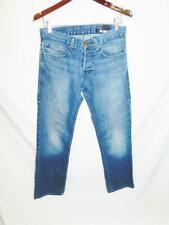 2a36d638bd1 William Rast Size 30 Blue Jeans Straight Leg Button Fly Mid Rise Light Wash