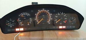 93-95 Mercedes Benz W140 S320 instrument cluster gauges tested OK