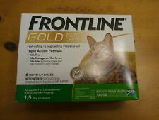 Frontline Gold For Cats And Kittens Over 1.5 Lbs 6 Doses Plus Free Shipping !