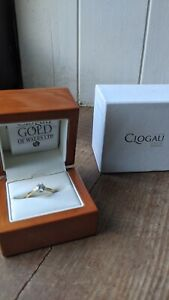 Clogau 18ct Yellow Gold Engagement Ring 0.5ct