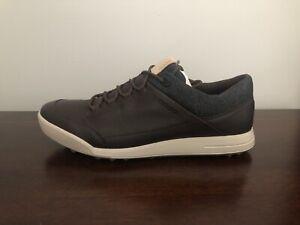 ECCO Street Retro Hybrid Men's Size 10-10.5 (EU 44) Golf Shoes Mocha Brown