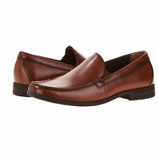 NEW! Mens George Thomas Brown Memory Foam Slip On Loafer Dress Shoes Size 8.5