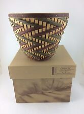 Longaberger 2006 Collector's Club Giving Basket w Protector NIB