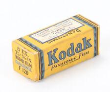 KODAK 120 PANATOMIC FILM, EXPIRED MAY 1939, SOLD FOR DISPLAY/cks/196612