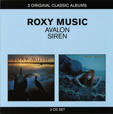 Roxy Music - Avalon / Siren (2011)  2CD  NEW/SEALED  SPEEDYPOST