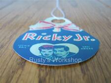1950's American Character RICKY, JR. Doll WRIST Hang TAG (Reproduction)
