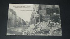 CPA CARTE POSTALE GUERRE 14-18 1916 BATAILLE MARNE REIMS FAUBOURG CERES
