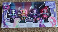 My Little Pony Equestria Girl Twilight Sparkle Pinkie Pie Rarity Fluttershy Doll