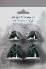 Dept 56 Village Accessory 'Tudor Gardens Topiaries' Set Of 4 #4038844 NEW!