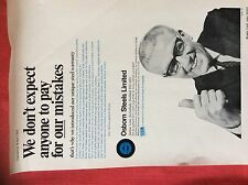 m2G ephemera 1969 advert osborn steels limited ecclesfield sheffield