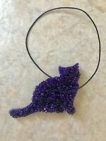 Handmade Cat Air Freshener, Aroma Beads, Various Scents, Various Colors, Kitty