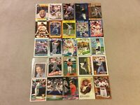 HALL OF FAME Baseball Card Lot 1980-2020 NOLAN RYAN TOM SEAVER PHIL NIEKRO +