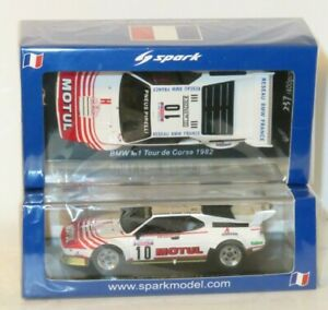 1/43 BMW M1  Motul  Tour de Corse - Rally de France 1982 #10 B.Darniche