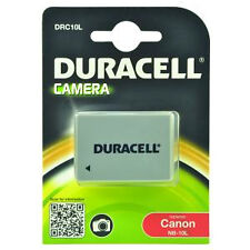 Duracell Replacement 950 mAh Nb-10l Battery for Canon Camera DRC10L