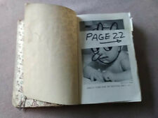 RAY JOHNSON 1980s, original Mixed Media/object: Book collage