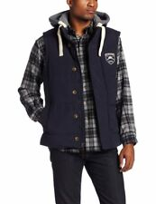 NEW ALPHA INDUSTRIES MEN'S NAVY FEROCITY HOODED UTILITY VEST SIZE EXTRA LARGE