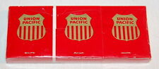 UNION PACIFIC RAILROAD MATCH BOOK ADVERTISING-FACTORY SEALED PK OF 6 UPRR
