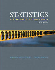 Statistics for Engineering and the Sciences Fifth Edition by Mendenhall