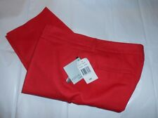 Focus 2000 Petite Ladies Stretch Capri Pants Rose 10P NWT