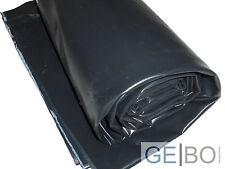 Teichfolie schwarz 0,5mm 4 x 6 Meter Teich Folie 0,5 mm 6,00 x 4,00 Meter 6x4