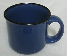 Ceramic 14 oz Coffee Mug Marlboro Unlimited Blue Black Rim Specks