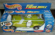 "HW Large 13"" 2000 Hot Wheels Tyco Twin Mill RC Radio Control Toy Car & Box NIB"