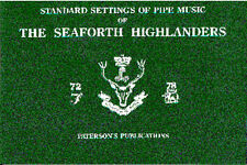 Standard Settings Of Pipe Music Of The Seaforth Highlanders Bagpipes Music Book