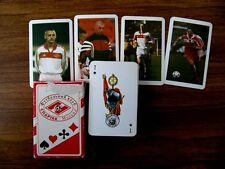 Russian SPARTAK FC Fun's Playing Cards. 54 Cards Deck. Made in Russia 1999
