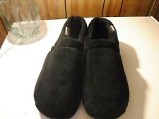 Black Pair Of Men's Isotoner House/Slipper  Shoes Size 13 to 14