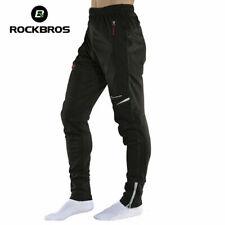 ROCKBROS Men's Thermal Fleece Pants Winter Cycling Sportswear Reflective Trouser